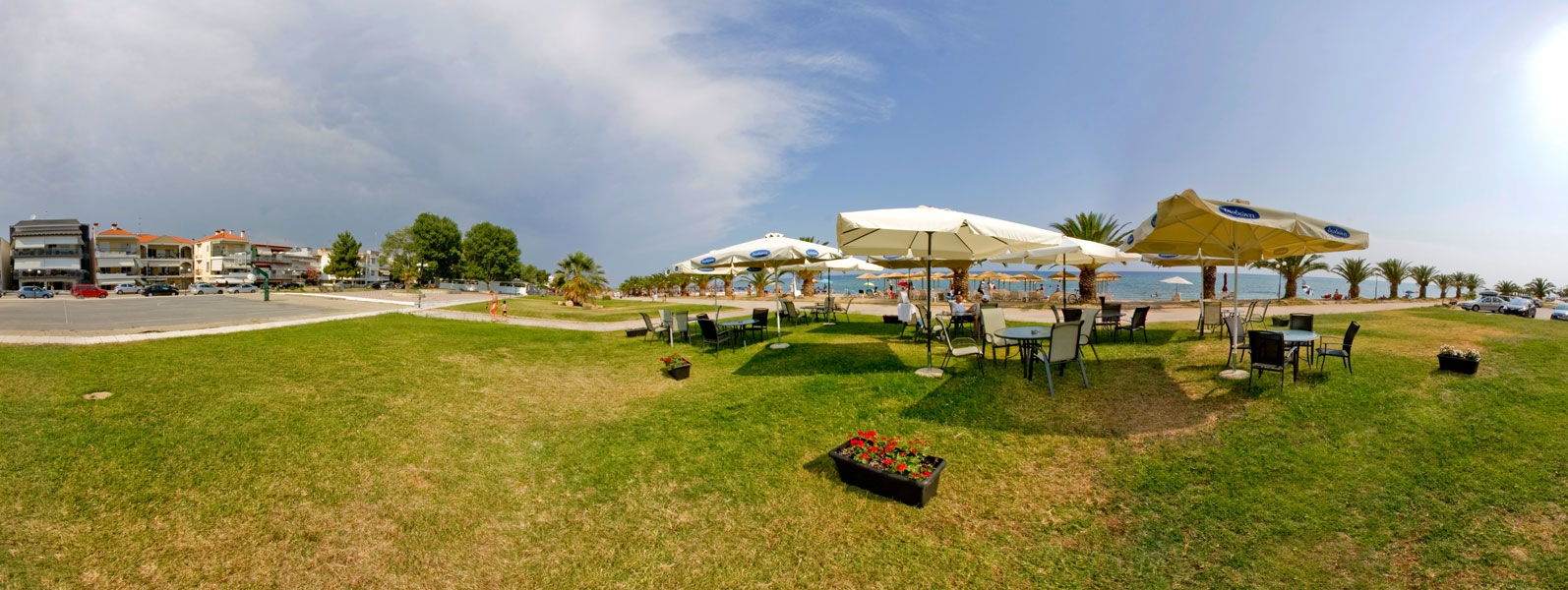 Nea Plagia, Chalkidiki, hotels, rooms, beach, map, accommodation